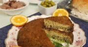 طرز تهیه کوکو اشپل ماهی خوشمزه و مقوی گیلانی با برگ سیر