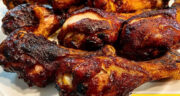 طرز تهیه مرغ دودی زغالی تند و ساده، مجلسی و خوشمزه در فر