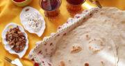 طرز تهیه نان لواش خانگی سریع بدون خمیر مایه در ماهیتابه