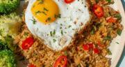 روش پخت برنج قهوه ای کته خوشمزه و مجلسی و بسیار پر خاصیت