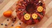 طرز تهیه کیک هویج و پرتقال خوشمزه و مجلسی با فر و بدون فر