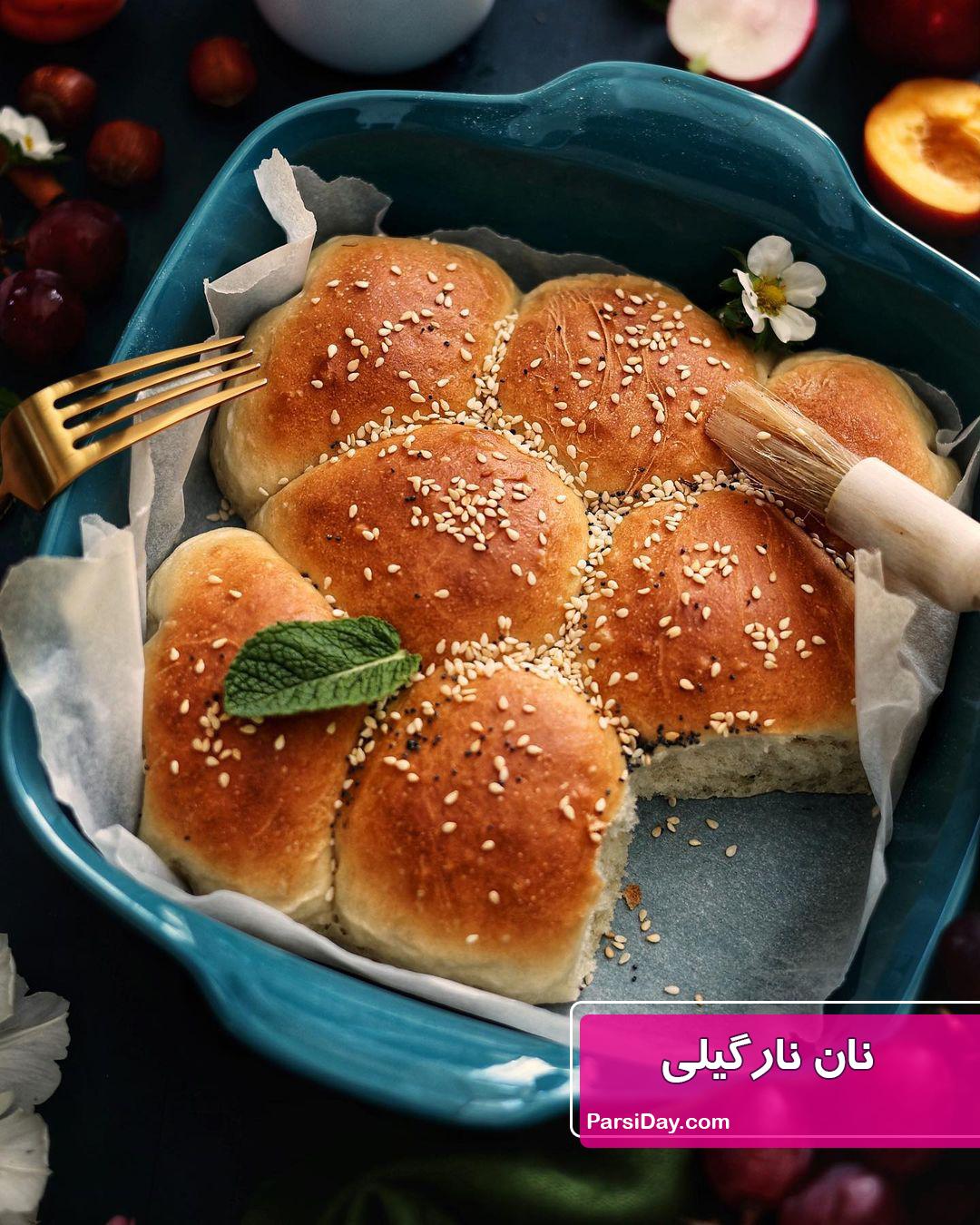 طرز تهیه نان نارگیلی