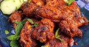 طرز تهیه بال مرغ مراکشی تند و خوشمزه با سس مخصوص ماست