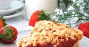 طرز تهیه کرامبل توت فرنگی ساده خوشمزه و مجلسی مرحله به مرحله