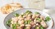 طرز تهیه سالاد تن ماهی و لوبیا سفید ساده، مجلسی و مقوی و لذیذ