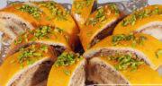 طرز تهیه رولت گردویی خوشمزه و عالی برای عصرانه مرحله به مرحله