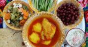 طرز تهیه آبگوشت مرغ ساده و خوشمزه با لپه و رب به روش محلی