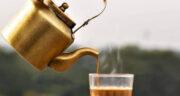 طرز تهیه چای کرک عربی خانگی خوشمزه و فوری با شیر