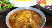 طرز تهیه خورش شوید خولی گیلانی ساده و بسیار خوشمزه با مرغ