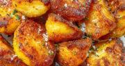 طرز تهیه سیب زمینی تنوری ساده و خوشمزه با پنیر در فر و ماکروفر