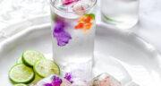 طرز تهیه یخ طعم دار یا یخ تزیینی شیک و مجلسی با میوه های فصل