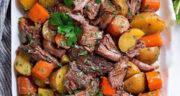 طرز تهیه خوراک گوشت و سیب زمینی و هویج سالم، ساده و خوشمزه