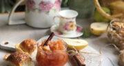 طرز تهیه مربای گلابی خرد شده ساده و خوشمزه و سالم در خانه