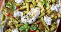 طرز تهیه پاستا پستو رستورانی ساده و خوشمزه با مرغ مرحله به مرحله