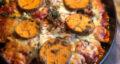 طرز تهیه گراتن سبزیجات بدون گوشت و مرغ، ساده و خوشمزه در فر