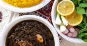 طرز تهیه قلیه تن ماهی جنوبی ساده و خوشمزه با رب و تمر هندی