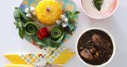 طرز تهیه قورمه سبزی با مرغ و لوبیا قرمز مجلسی، خوشمزه و رستورانی