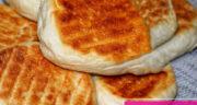 طرز تهیه نان تونسی خانگی نرم و خوشمزه بدون فر با خمیر مایه