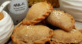 طرز تهیه پیراشکی خرما خانگی خوشمزه و آسان با گردو و دارچین