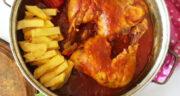 طرز تهیه ترشه کباب مرغ گیلانی در ماهیتابه مرحله به مرحله