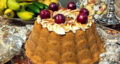 طرز تهیه کیک نسکافه و گردو خوشمزه و آسان با قهوه فوری