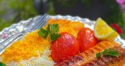 طرز تهیه کباب تابه ای دو رنگ خوشمزه و مجلسی با گوشت و مرغ