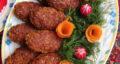 طرز تهیه شامی جو پرک ساده و خوشمزه با گوشت و آرد گندم