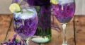 طرز تهیه شربت گل پنیرک کهکشانی و سه رنگ مجلسی با آبلیمو