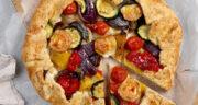 طرز تهیه گلت سبزیجات ساده و خوشمزه با کدو و بادمجان و پنیر