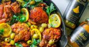 طرز تهیه خوراک مرغ مراکشی سریع ساده و مجلسی با فر و بدون فر