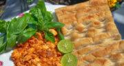 طرز تهیه املت تن ماهی ساده و خوشمزه با رب گوجه و پیاز