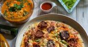 طرز تهیه پیتزا فوری خانگی با خمیر مایه فوری با فر و بدون فر