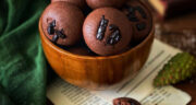 طرز تهیه قرابیه شکلاتی کره ای ترکی ساده و خوشمزه مرحله به مرحله