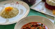 طرز تهیه خورش لوبیا چیتی ساده و خوشمزه و مجلسی با گوشت