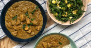 طرز تهیه خورش انبه با مرغ خوشمزه، ساده و تند با ادویه فراوان