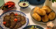 طرز تهیه کوکو ماش و سیب زمینی ساده و خوشمزه بدون گوشت
