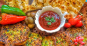 طرز تهیه کوکو تره فرنگی ساده و خوشمزه بدون گوشت و سیب زمینی