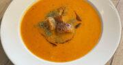 طرز تهیه سوپ ازوگلین خوشمزه ترکیه با دال عدس و بلغور گندم
