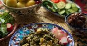 طرز تهیه واویشکا شوید گیلانی ساده و خوشمزه و فوری با مرغ