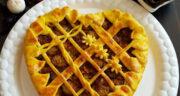 طرز تهیه کاسترول بادمجان خمیری آسان با گوشت چرخ کرده و سیب زمینی