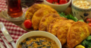 طرز تهیه بورک پفی ساده و خوشمزه ترکیه ای با گوشت چرخ کرده