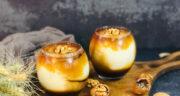 طرز تهیه گبوله دسر کازرونی یا ترکیه ای خوشمزه با شیره انگور