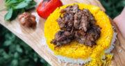 طرز تهیه کباب فسنجانی شمالی ساده و خوشمزه با گردو و رب انار