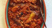 طرز تهیه خورش قیمه کدو زعفرانی مجلسی و آسان با گوشت