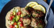 طرز تهیه کوفته جعفری ساده و خوش عطر و مزه با گوشت و برنج