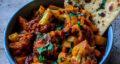 طرز تهیه آلو گوبی هندی ساده و گیاهی با سیب زمینی و گل کلم
