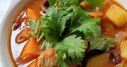 طرز تهیه سوپ چربی سوز رژیمی مقوی و آسان با کدو و کرفس