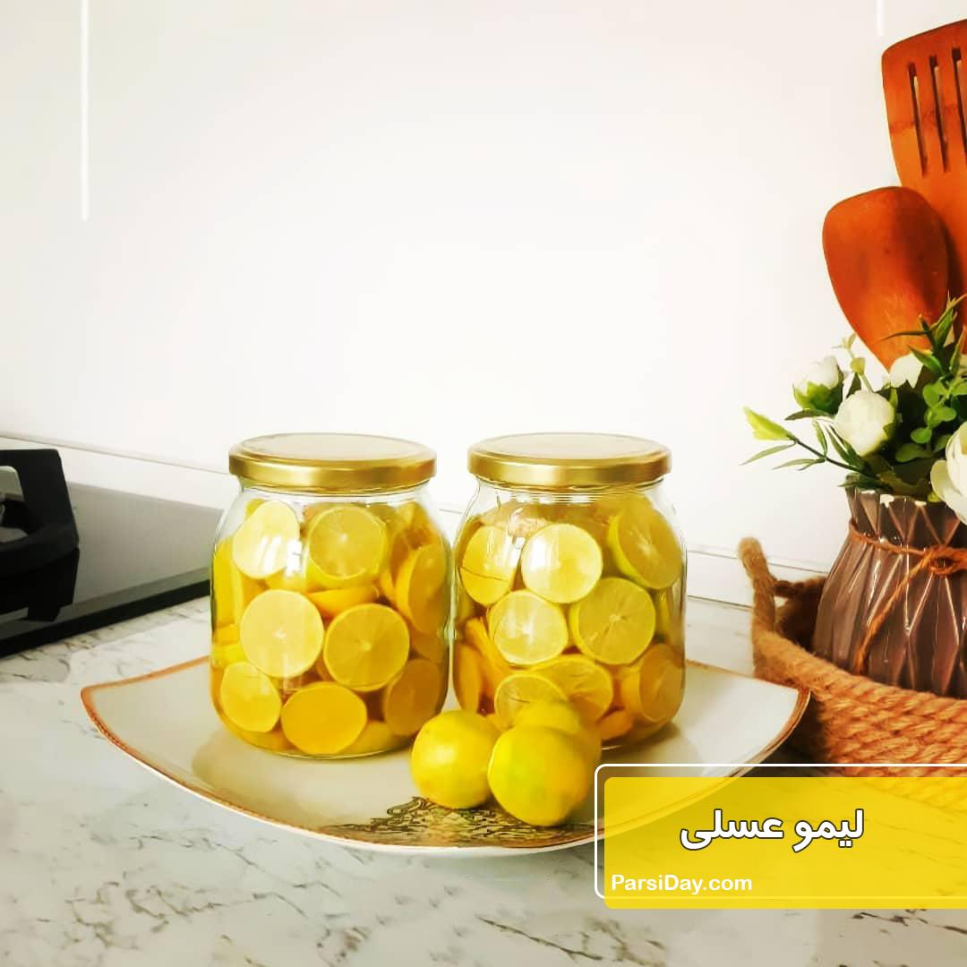 طرز تهیه لیمو عسلی خانگی با زنجبیل و دارچین برای زمستان
