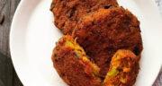 طرز تهیه کتلت هندی شکم پر ساده و خوشمزه با گوشت و سیب زمینی