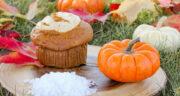 طرز تهیه کاپ کیک کدو حلوایی مجلسی و آسان با گردو و دارچین